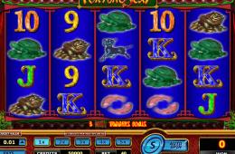 Bild vom kostenlosen online Spielautomat Fortune 8 Cat