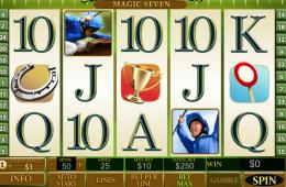 Konstenloser online Spielautomat Frankie Dettori´s Magic 7