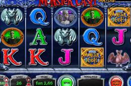 Bild vom kostenlosen online Spielautomat Monster Cash