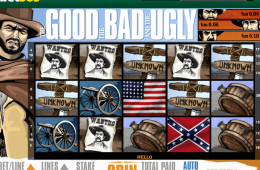 Bild vom kostenlosen online Spielautomat slot The Good, The Bad and The Ugly
