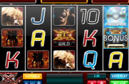Bild vom kostenlosen online Spielautomat the X Factor Jackpot
