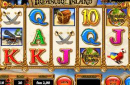 Bild vom kostenlosen online Spielautomat Treasure Island