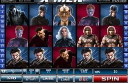 Bild vom kostenlosen online Spielautomat X men
