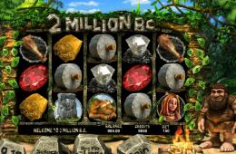 Bild vom kostenlosen Casino Spiel 2 Million BC