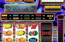 Bild vom kostenlosen online Spielautomat 4th Dimension Max Power