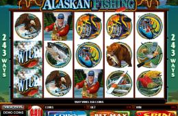 Bild vom kostenlosen Casino Spiel Alaskan Fishing