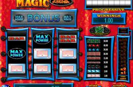 Bild vom kostenlosen online Spielautomat Black Magic