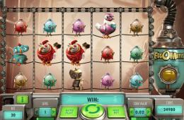Bild vom kostenlosen online Spielautomat EggOMatic