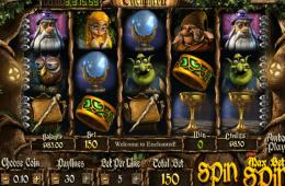 Bild vom kostenlosen online Spielautomat Enchanted