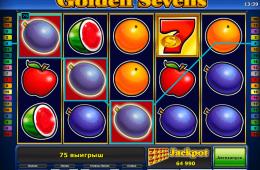 Bild vom kostenlosen online Spielautomat Golden Sevens