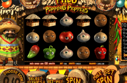 Kostenloser Online Spielautomat Paco and the Popping Peppers