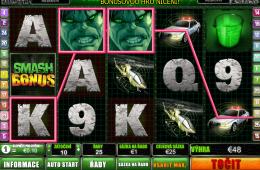 Bild vom kostenlosen online Casino Spiel The Incredible Hulk
