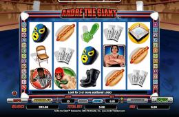 Bild vom kostenlosen online Spielautomat Andre the Giant