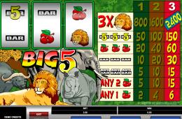 Kostenloses Online-Automatenspiel Big 5
