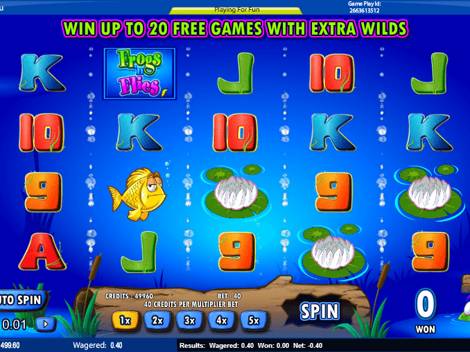 Spiele Frogs N Flies - Video Slots Online
