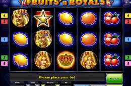 Kostenloser Online-Spielautomat Fruits'n Royals