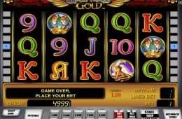 Kostenloser Online-Spielautomat Gryphon's Gold