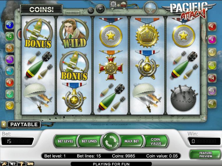 Free online pokie machines