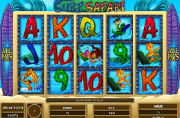 Kostenloses Online-Automatenspiel Surf Safari