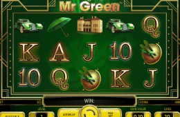 Kostenloser Online-Spielautomat The Marvellous Mr. Green