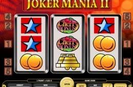 Kostenloser Online-Casino-Spielautomat Joker Mania II