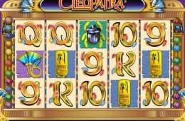 Kostenloser Online-Spielautomat Cleopatra