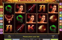 Kostenloser Online-Casino-Spielautomat Flamenco Roses