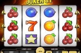 Kostenloser Online-Spielautomat Joker 81