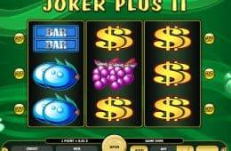 Kostenloser Online-Casino-Spielautomat Joker Plus II