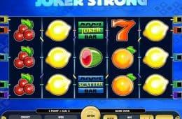 Kostenloser Online-Spielautomat Joker Strong