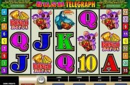 Der kostenlose Online-Casino-Spielautomat Bush Telegraph