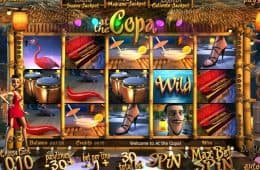 Kostenloser Online-Casino-Spielautomat at the Copa