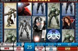 Kostenloser Online-Casino-Spielautomat Iron Man 2