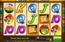 Kostenloser Online-Spielautomat Quest for Gold zum Spielen