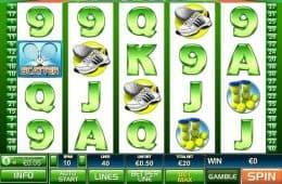 Online-Spielautomat Tennis Stars ohne Einzahlung