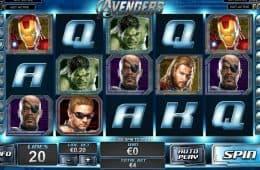 Kostenloeser Spielautomat The Avengers