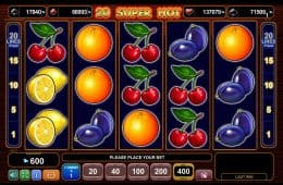 Online-Casino-Spielautomat 20 Super Hot