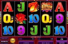 Kostenloser Casino-Spielautomat Burning Desire