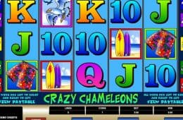 Kostenloser Online-Casino-Spielautomat Crazy Chameleons
