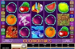 Kostenloser Online-Spielautomat Elementals