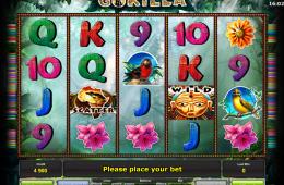Kostenloser Online-Spielautomat Gorilla