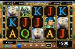 Kostenloser Online-Spielautomat Imperial Wars zum Spaß