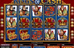Kostenloser Onliner-Spielautomat Kings of Cash