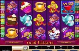 Kostenloser Online-Spielautomat Mad Hatters