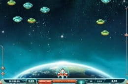 Kostenloser Online-Spielautomat Max Damage and the Alien Attack