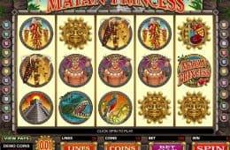 Kostenloser Online-Spielautomat Mayan Princess