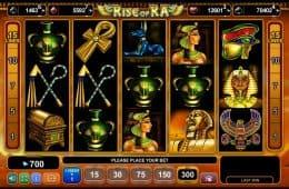 Online-Casino-Spielautomat Rise of Ra
