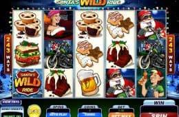 Kostenloser Online-Spielautomat Santa's Wild Ride