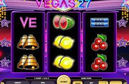 Kostenloser Online-Casino-Spielautomat Vegas 27