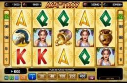 Kostenloser Online-Spielautomat Age of Troy